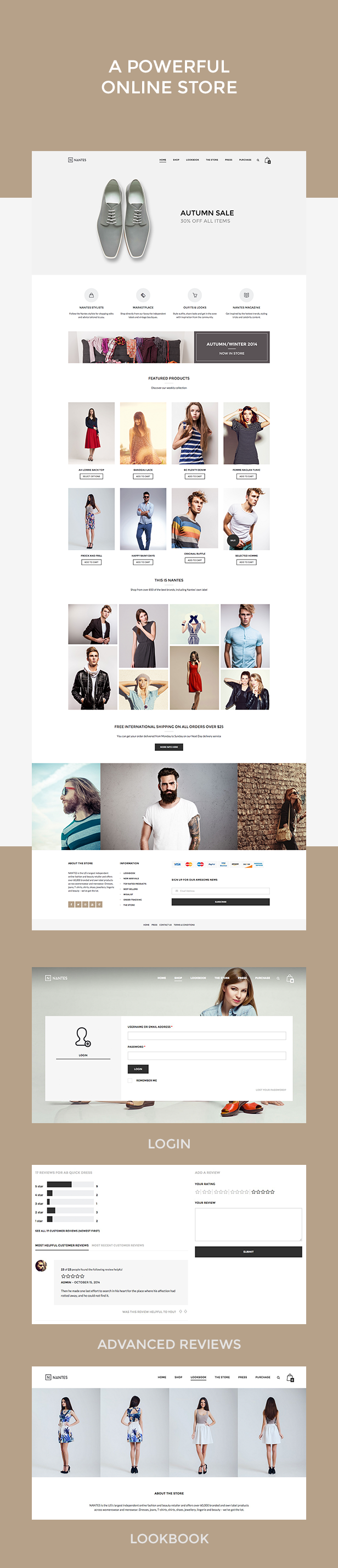 Nantes - Creative Ecommerce & Corporate Theme - 2